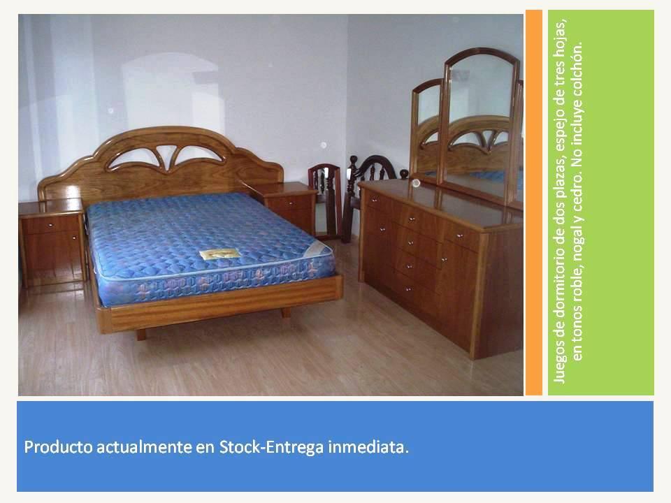 Reynaga muebles juego de dormitorio dos plazas for Juego de dormitorio montevideo