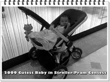 2009 CUTE BABY IN STROLLER/PRAM CONTEST