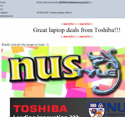 ATTENTION! Toshiba laptops offers!