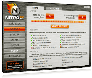 Nitro PC 2008 Portable + Crack download baixar torrent