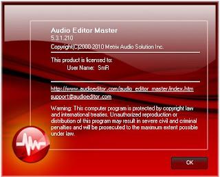 Audio Editor Master 5.3.1.210