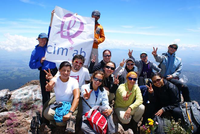 Segunda cumbre. La Malinche. 4,420 mts