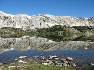 Lewis Lake, Snowy Range Mountains, Medicine Bow National Forest, WYOMING
