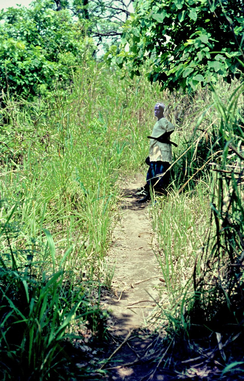 on trail from Kurobonla to Sokurella - 1969 March