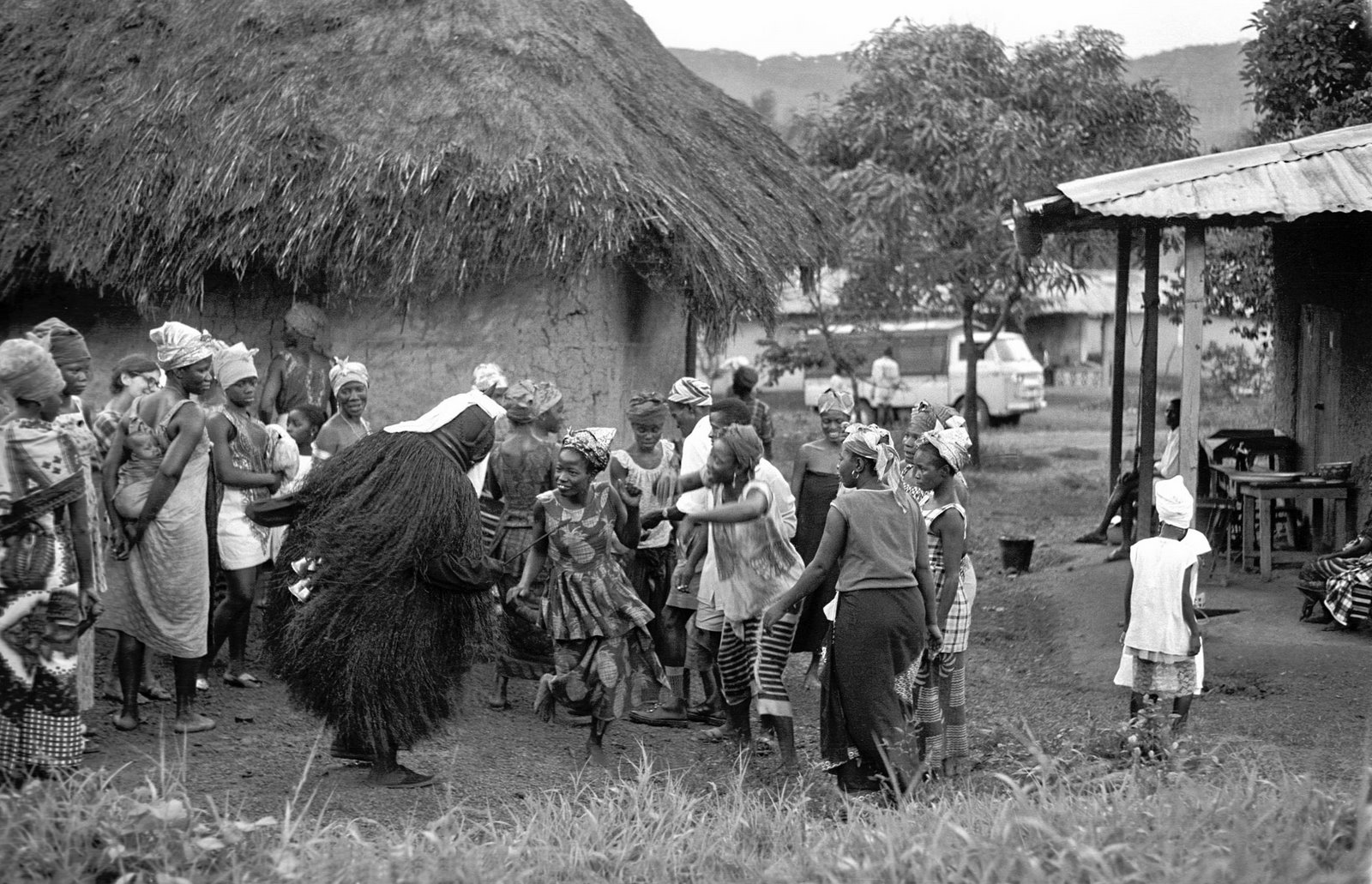 a dance with the Bundu Devil at Tokpombu (Nongowa)