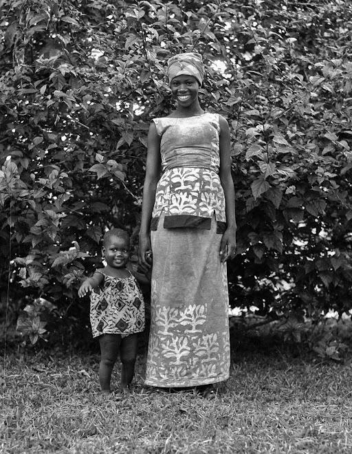 Elizabeth with Baby Isetta Daramy