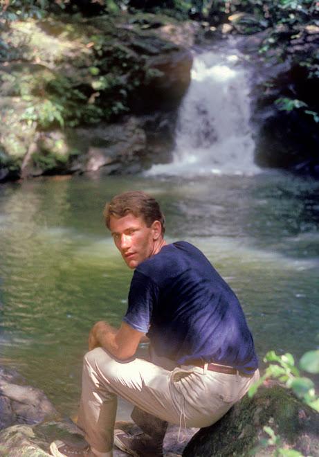 me at Joro Falls - 1968
