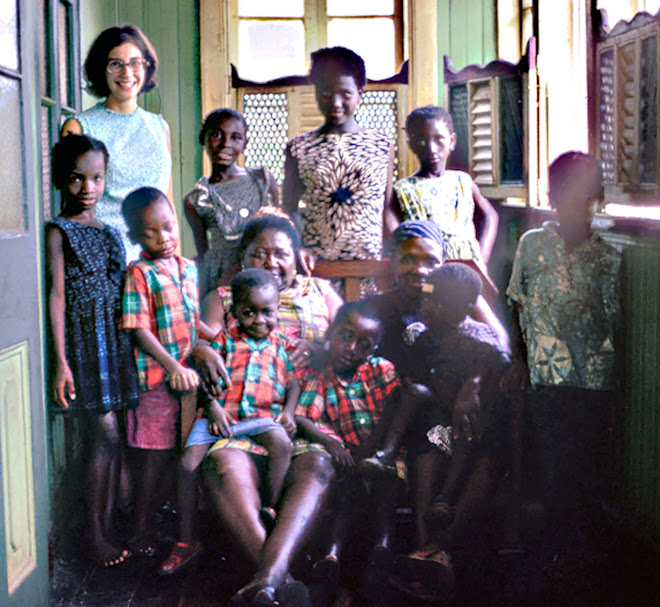 Our host family at Pademba Rd in Freetown - Mrs. Lottie Nelson-Williams