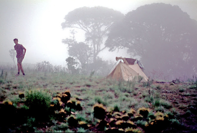 early morning on Bintimani - (Peace Corps volunteer Lloyd Ziegler)