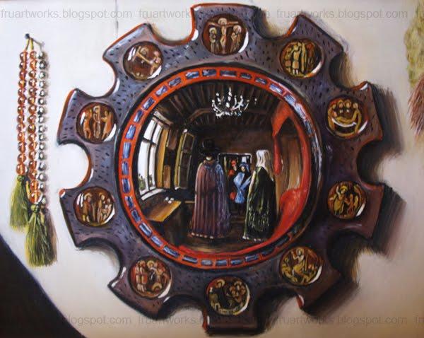 Fruartworks: Jan van Eyck: Arnolfini házaspár (másolat)