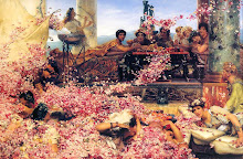 """The Roses of Heliogabalus"" 1888. Sir Lawrence Alma-Tadema"