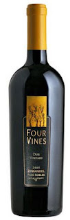 Four Vines wine