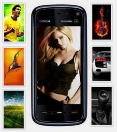 Wallpapers para tu Nokia 5800