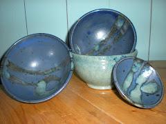 Blue Green Bowls