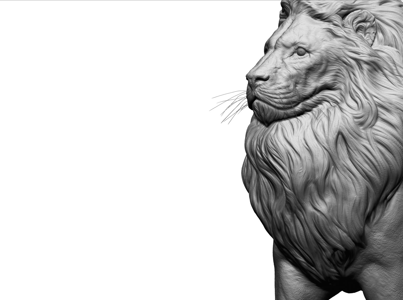 Volumik Estudio: LEON | escultura digital | prototipado | animación: volumik.blogspot.com/2010/04/leon-modelado-3d-prototipado-animacion...