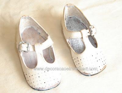 metalizar sapatos