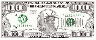 million dollar splog