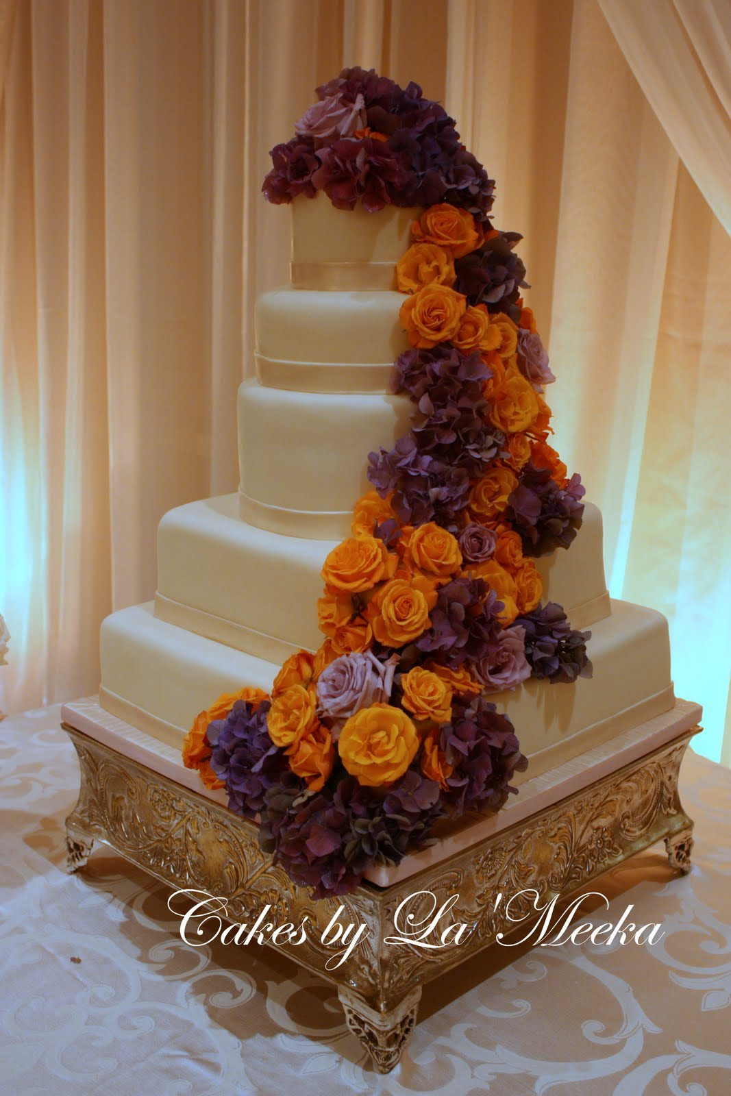 cakes by la meeka atlanta wedding cakes