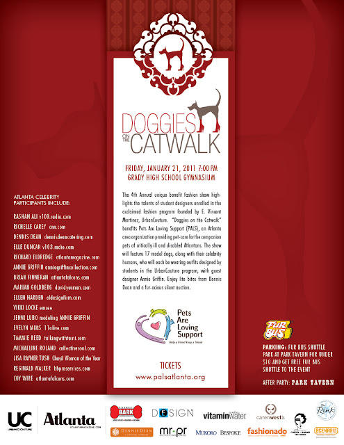DOTCW 2011 flyer3 4th Annual Doggies on the Catwalk ~ {Atlanta, Georgia Event Photographer}