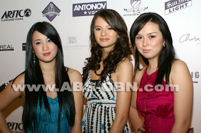Top Three Girls of Pinoy Big Brother Teen Edition Plus