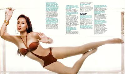 Carlene Aguilar FHM January 2009