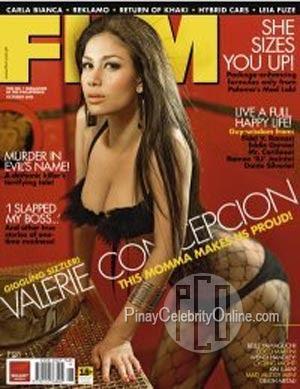 Valerie Concepcion FHM October 2009