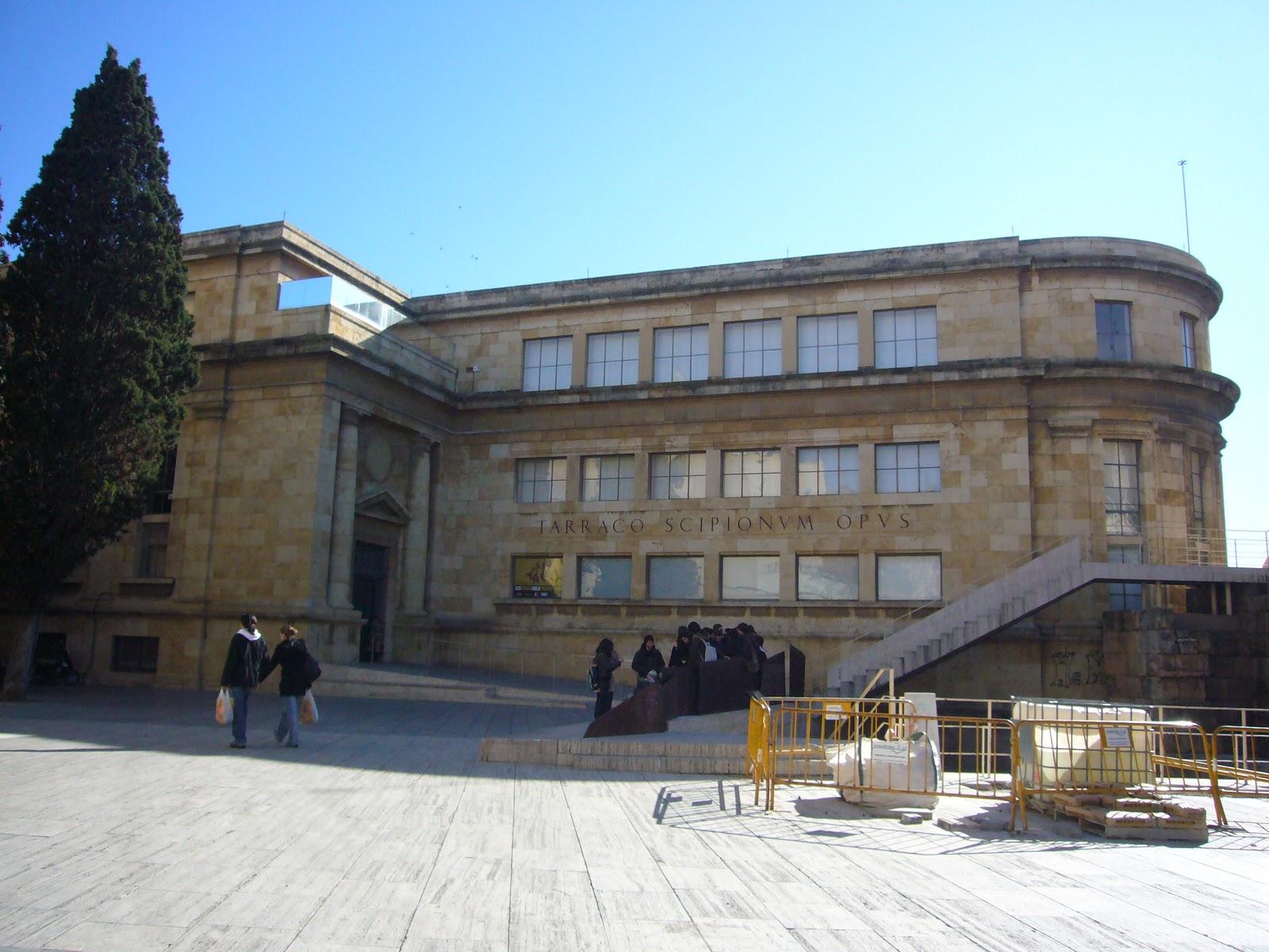 Contempla arquitectura levantamiento de planos museo - Arquitectos tarragona ...