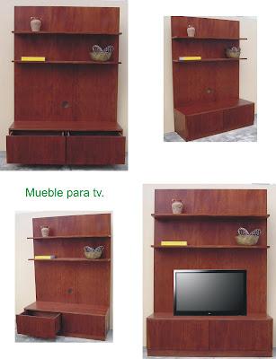 Muebles Sala de TV Mesas para TV Homecenter - imagenes de muebles para tv en madera