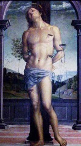 São Sebatião, Perugino