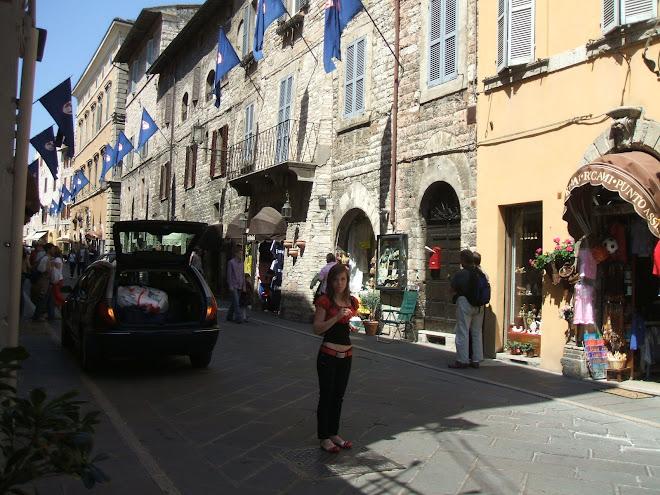 Assisi, Italia Aprilie 2008