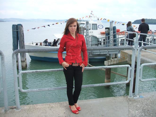 Lacul de langa Perugia,Trasimeno, 2 mai, 2008