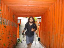 Entrant per la porta de la història a Tsuwano  (Japó) 2008