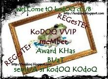 Award dari Si Kodoq