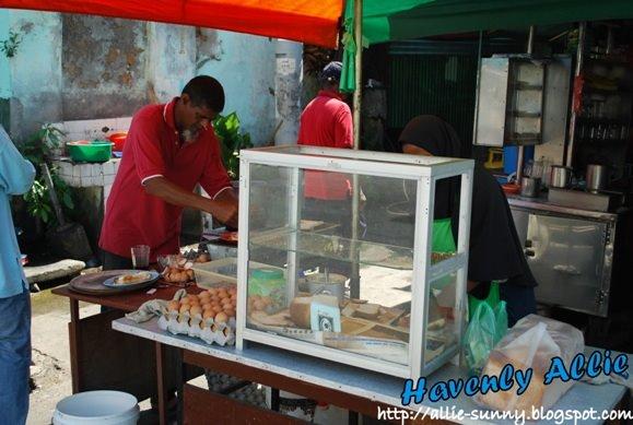 Roti Bakar Stall