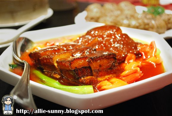 Shanghainese Braised Pork Belly with Beancurd Leaves