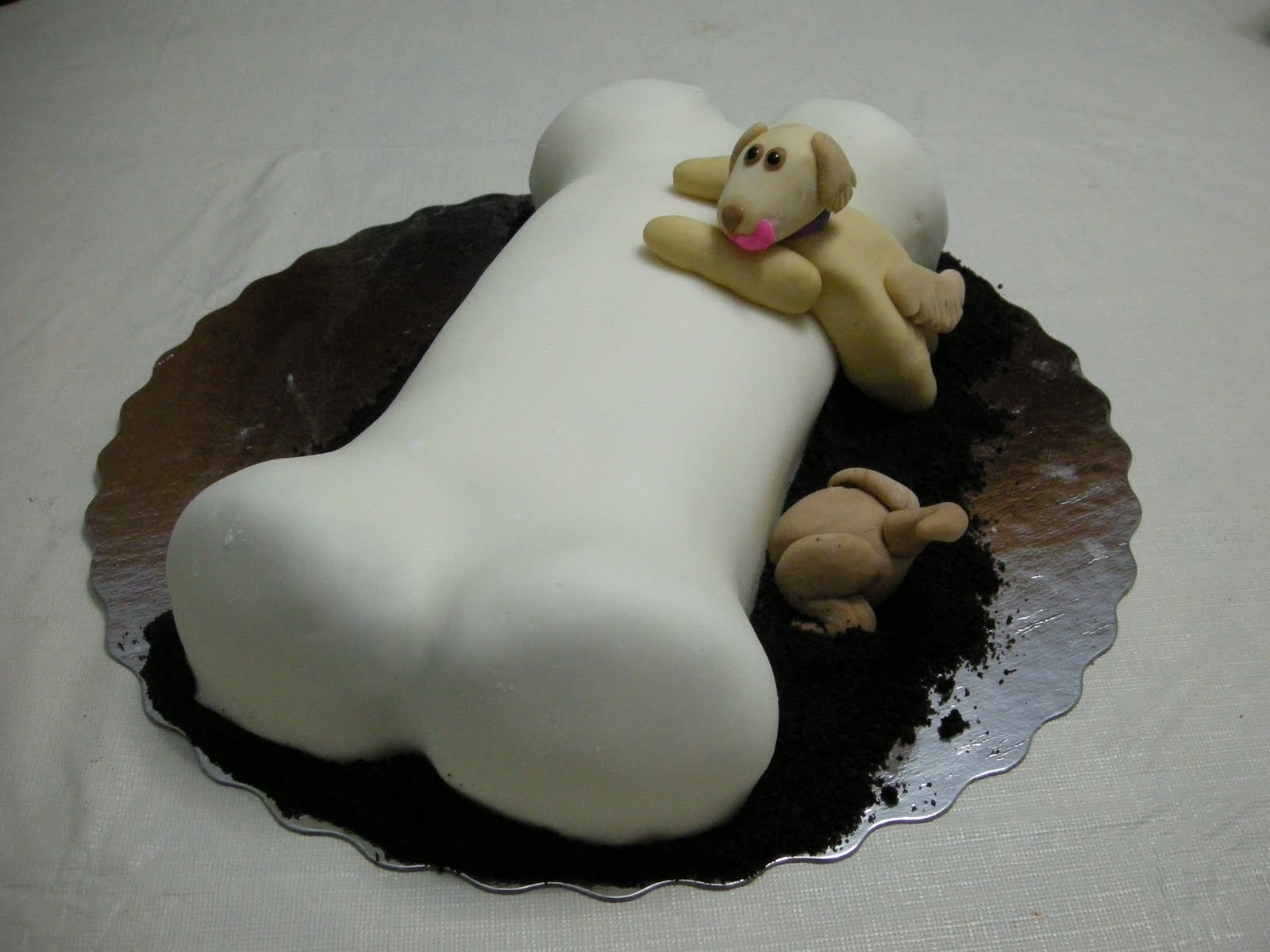 Dog Bone Cake Pictures