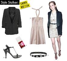 Cute Emma Watson Sports a Boyfriend Blazer
