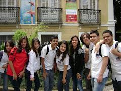 Colégio Estadual José Leite Lopes. Passeio do 1º ano