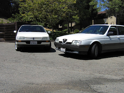 Tamerlane's Thoughts: Peugeot 405 for sale and Alfa 164 ...