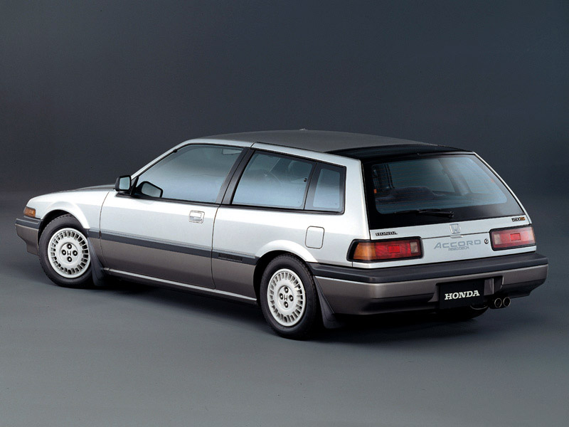 Honda Accord Aerodeck on 1990 acura vigor