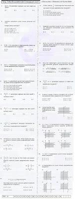 7.sınıf matematik birinci dereceden eşitsizlikler