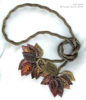 Leaf Lariat ©2006 Theresa Buchle