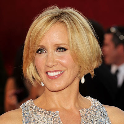 Felicity Huffman short Inverted bob hairstyle