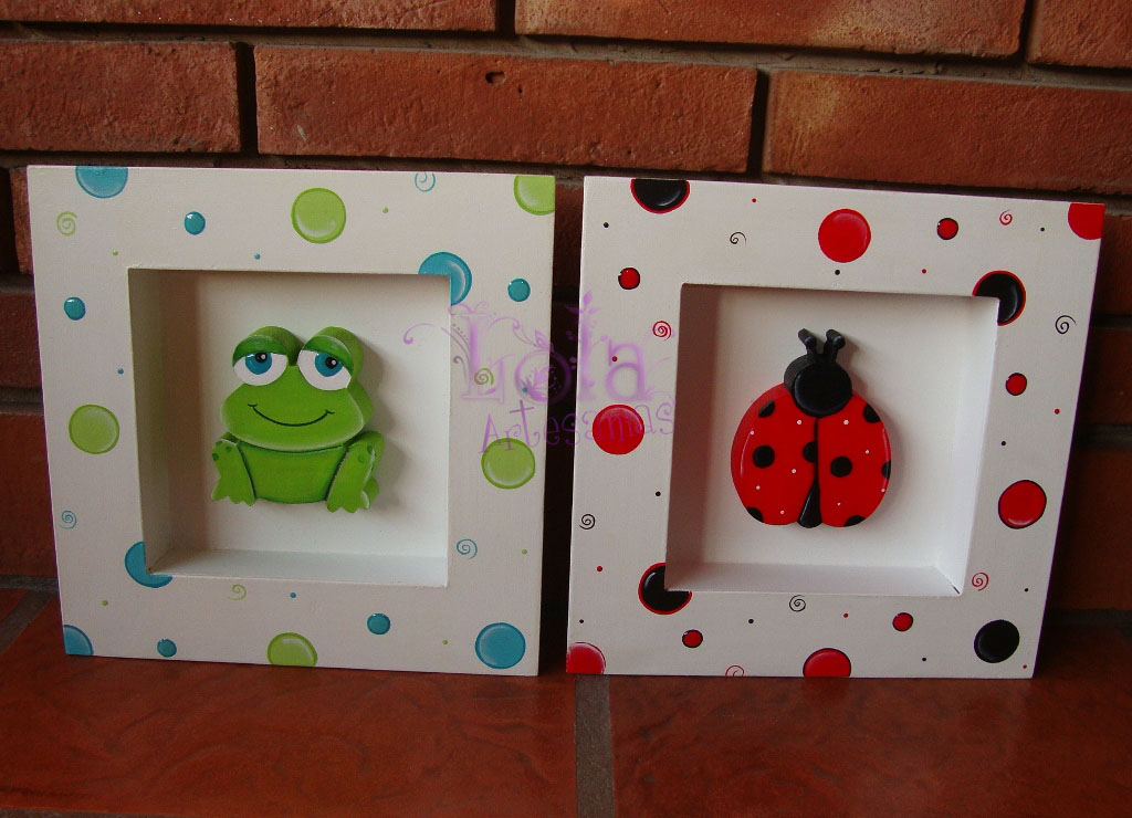 Cuadritos infantiles artesanales imagui - Cuadros artesanales infantiles ...