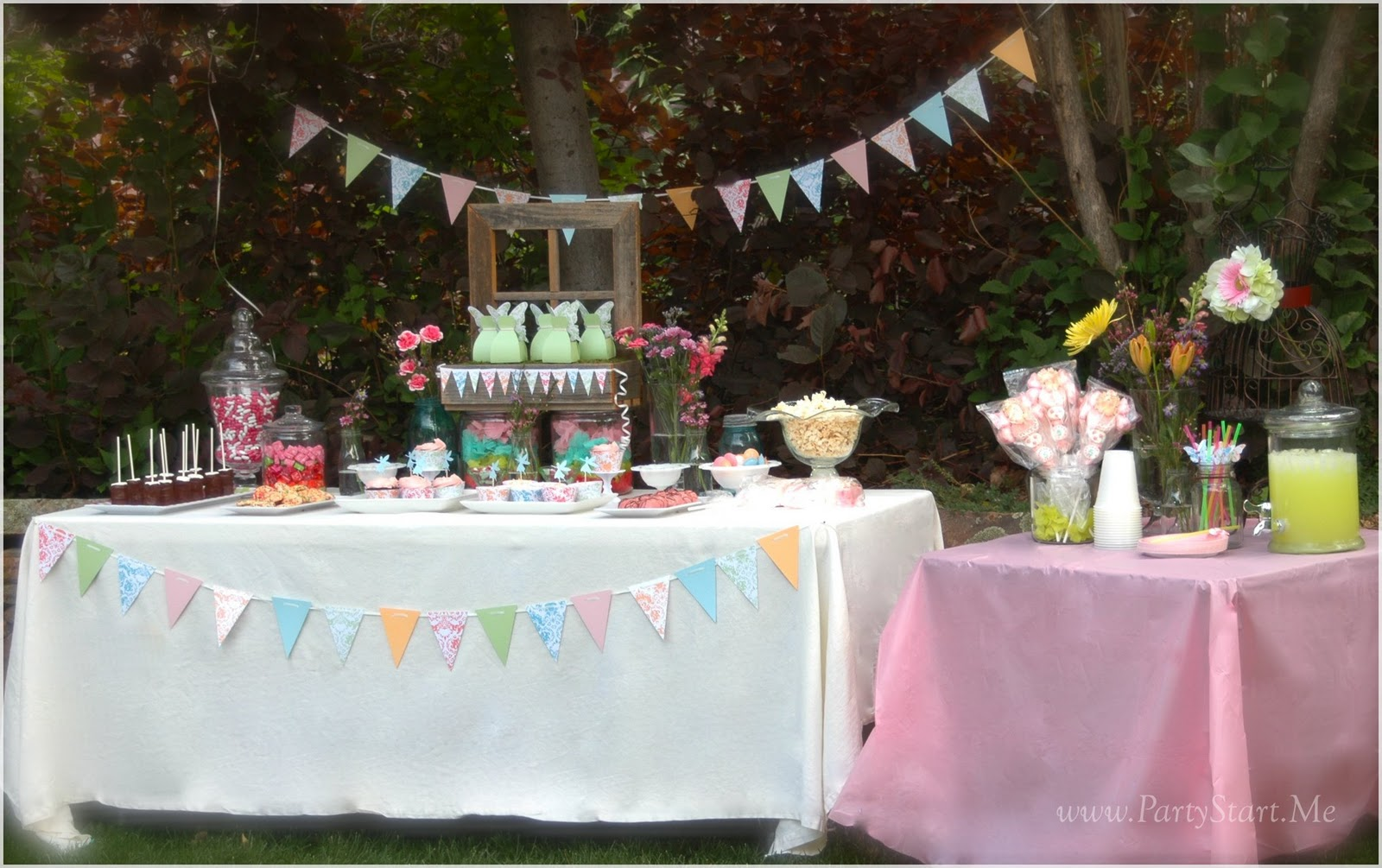 Pamela Smerker Designs: Shabby Chic Fairy Party
