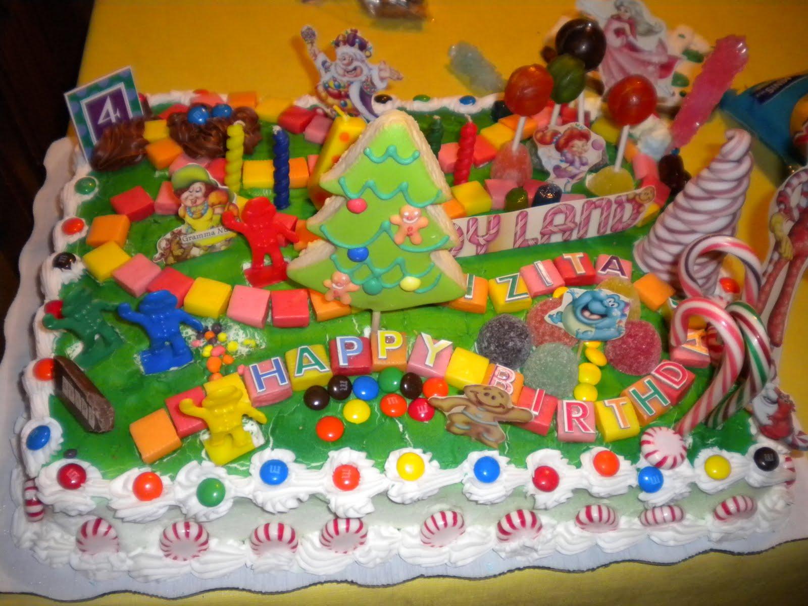 living the good life in grandmaville candyland cake