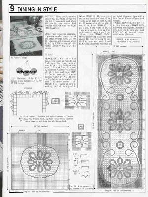 şemalı dantel şömentabla örnekleri