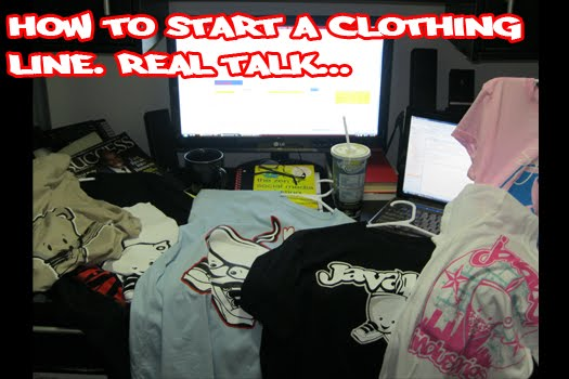 how to start a clothing line for dummies