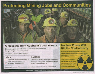 Australian coal advertisement