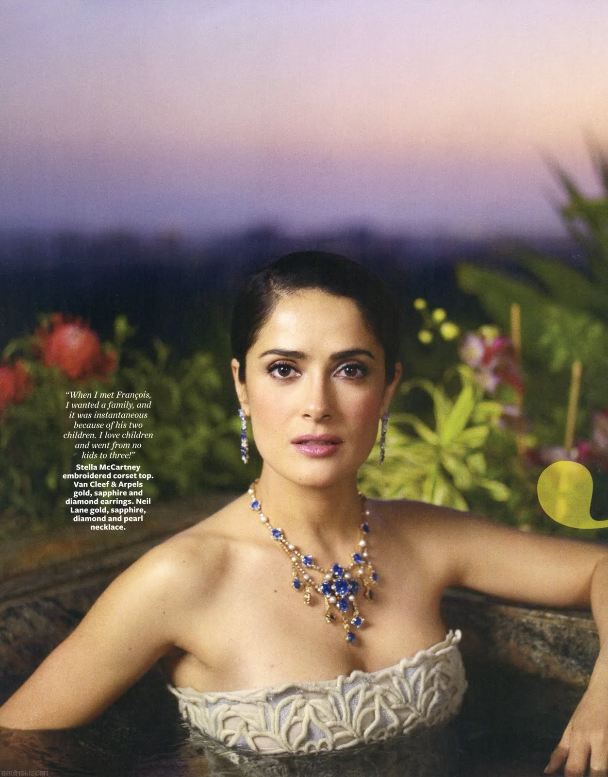 Salma Hayek For Instyle